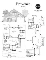 provence floor plans whitestone custom homes