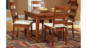 Rooms To Go Dining Table Sets by Melbourne Tobacco 5 Pc Square Dining Set Dining Room Sets Dark Wood