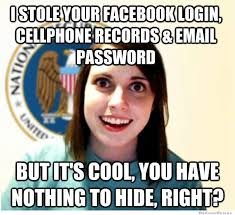 Funny Internet Meme - funny internet memes effective response to surveillance privacy