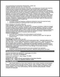 Sample Non Profit Resume by Non Profit Arts Management Sample Resume Certified Resume Writer