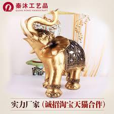 european resin elephant ornaments creative lucky town house