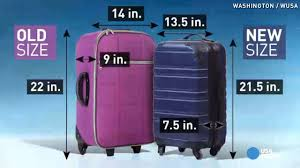 united airlines luggage policy airline group calls for smaller carry on bags to free up bin space