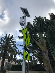 Solar Power Traffic Lights by Solar Rectangular Rapid Flashing Beacon