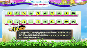 learn grade 2 maths odd numbers and even numbers youtube