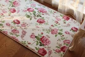 tappeti stile shabby tappetini romantico floreale dolce sta tappeti per