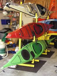 Free Standing Kayak Storage Rack Plans by Sherrikayaks Blog Archive Winter Canoe Kayak Storage