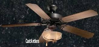 Deer Antler Ceiling Fan Light Kit Antler Ceiling Fans With Light Sofrench Me