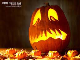 scary pumpkin wallpaper bbc northern ireland radio foyle
