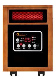 amazon com dr infrared heater portable space heater 1500 watt