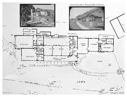 10050 cielo drive floor plan cielo drive actual blueprints from encanto sunland s photostream