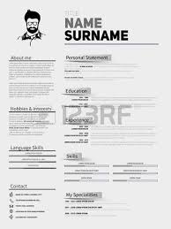 Application Resume Template Resume Minimalist Cv In Gold Glitter Style Resume Template With