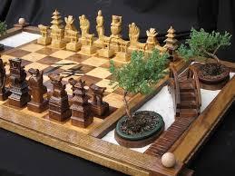 North Carolina travel chess set images A very creative hand made chess set on etsy i like the chess jpg