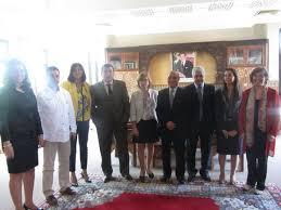 chambre artisanat marrakech visite de la fédération des associations des artisans de malaga à la