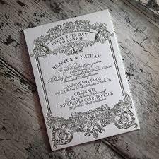 Wedding Invitations Cost Gorgeous Letterpress Wedding Invitations Typographic Letterpress