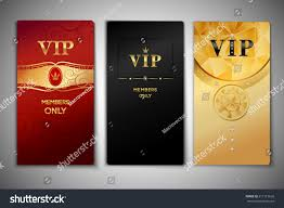 vip black golden premium cards stock vector 217115626