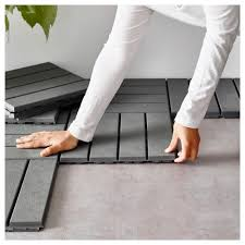 Laminate Flooring Outdoors Runnen Floor Decking Outdoor Grey 0 81 M Ikea