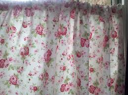 shabby chic kitchen curtains curtains wall decor
