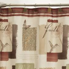 Words Shower Curtain Shower Curtain