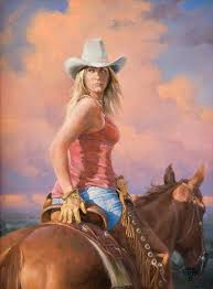 457 best cowgirl art images on pinterest art oil cowgirls and