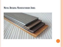 manufacturers of metal roof decking