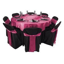 fuschia pink table cloth 43 best fuschia black wedding images on pinterest black