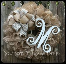monogram wreath 200 best southern frills and thrills wreaths images on