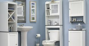 Bathroom Toilet Cabinet Bathroom Furniture Bath Cabinets Toilet Cabinet And More