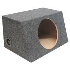 empty 15 inch speaker cabinets unloaded subwoofer enclosures
