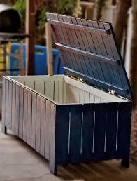 Patio Storage Bench 26 Diy Storage Bench Ideas Guide Patterns