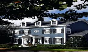 paint color ideas for colonial revival houses this old