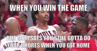 Derrick Rose Meme - derrick rose memes follow game winner the latest hip hop news