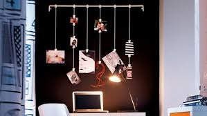 original ideas to decorate the wall with photos in new ways