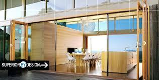 Accordion Glass Patio Doors Cost Collapsible Glass Doors Jvids Info