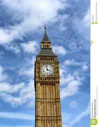 London Clock Tower by Big Ben Clock Tower At Westminster London Stock Photo Image