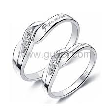 sterling promise rings images Unique engraved sterling silver promise rings set of two jpg