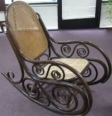 Bent Wood Rocking Chair The Craftsman Bentwood Rocker Gets A New Fancy Weave