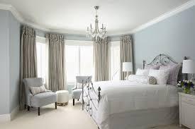 rectangular solid oak wood king headboard neutral bedroom paint