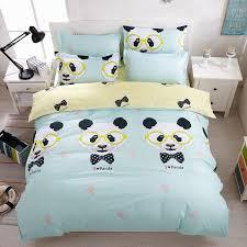 copriletti romantici kawaii set biancheria da letto per i bambini anime copripiumino