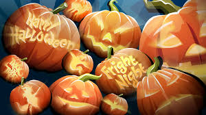 halloween autumn background fall wallpaper backgrounds with pumpkins wallpapersafari