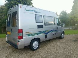 2001 fiat ducato timberland starlight luxury 2 berth campervan