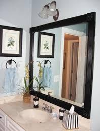black framed bathroom mirrors nice black framed bathroom mirror new at wall ideas concept projects
