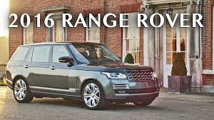 range rover svautobiography 2016 range rover svautobiography official trailer youtube