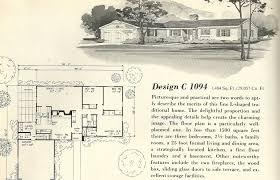 Contemporary House Plans by 1960 S Contemporary House Plans House Design Plans
