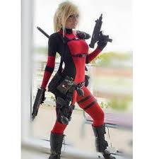 Body Halloween Costumes Lady Deadpool Costume Halloween Cosplay Body Spandex