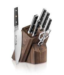Kitchen Knives Block Set Cangshan Tc Series 1021219 Sandvik 14c28n Swedish Steel Forged 8