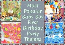 1st birthday party themes for birthday party themes for baby boy in india image inspiration