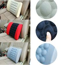 new electric car lumbar support high quality car back seat cushion