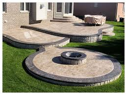 How To Build Fire Pit On Concrete Patio Best 25 Stamped Concrete Patios Ideas On Pinterest Stamped