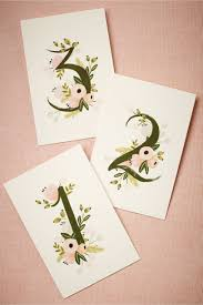 table numbers for wedding floravine table numbers 5 in sale bhldn