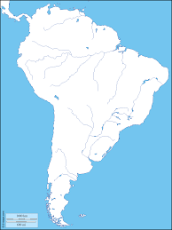 Map Of North America And South America With Countries south america free maps free blank maps free outline maps free